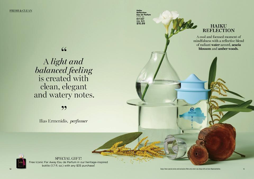 Haiku Reflection - Fresh & Clean