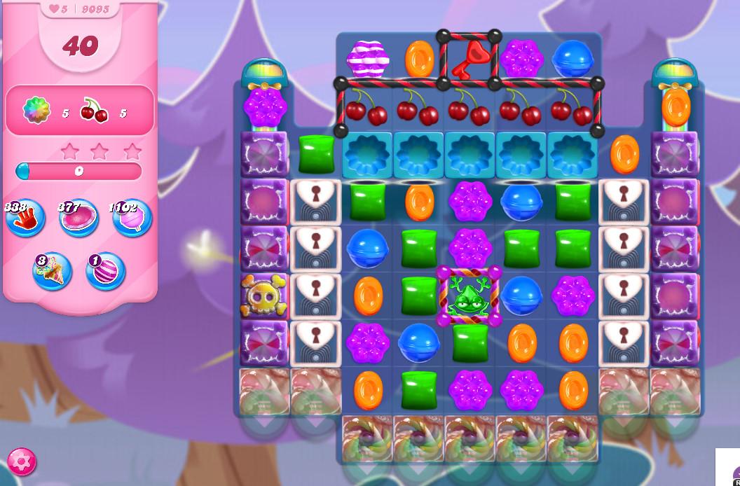 Candy Crush Saga level 9095