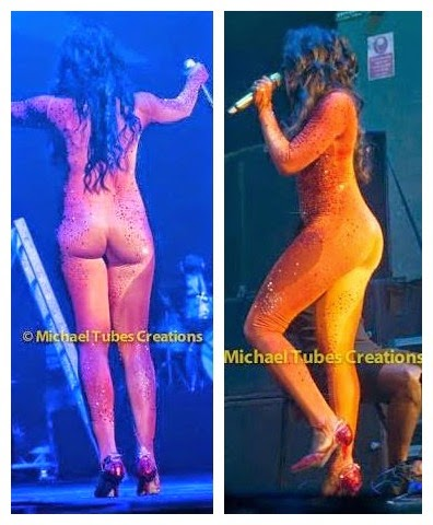 download By Force Sexiness:  Tiwa Savage Performs In Nude Bodysuit In The UK (See Photos)