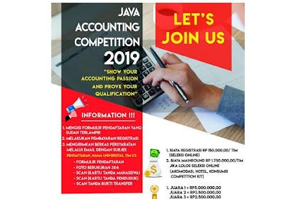 Lomba Java Accounting Competition (JAC) 2019 Mahasiswa