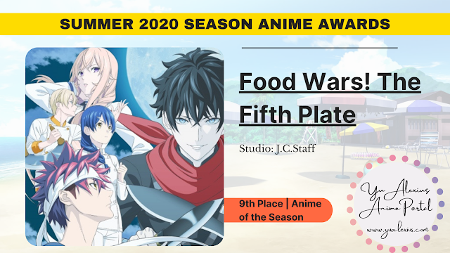 Food Wars The Fifth Plate
