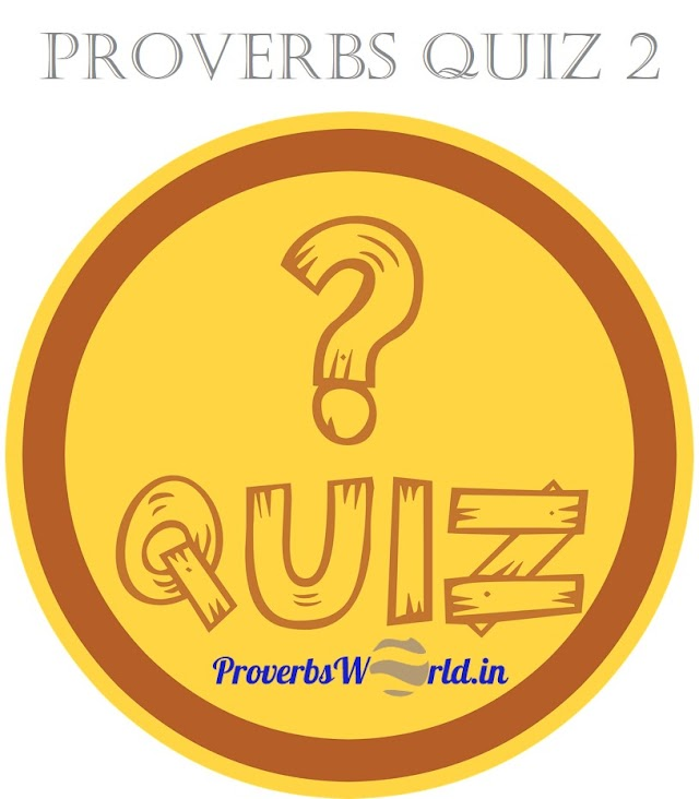 Provebs Quiz 2