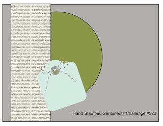 Card Sketch from Handstamped Sentiments HSSSC#320