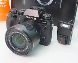 Fujifilm X-T1 Fullset dan Kit 16-50mm