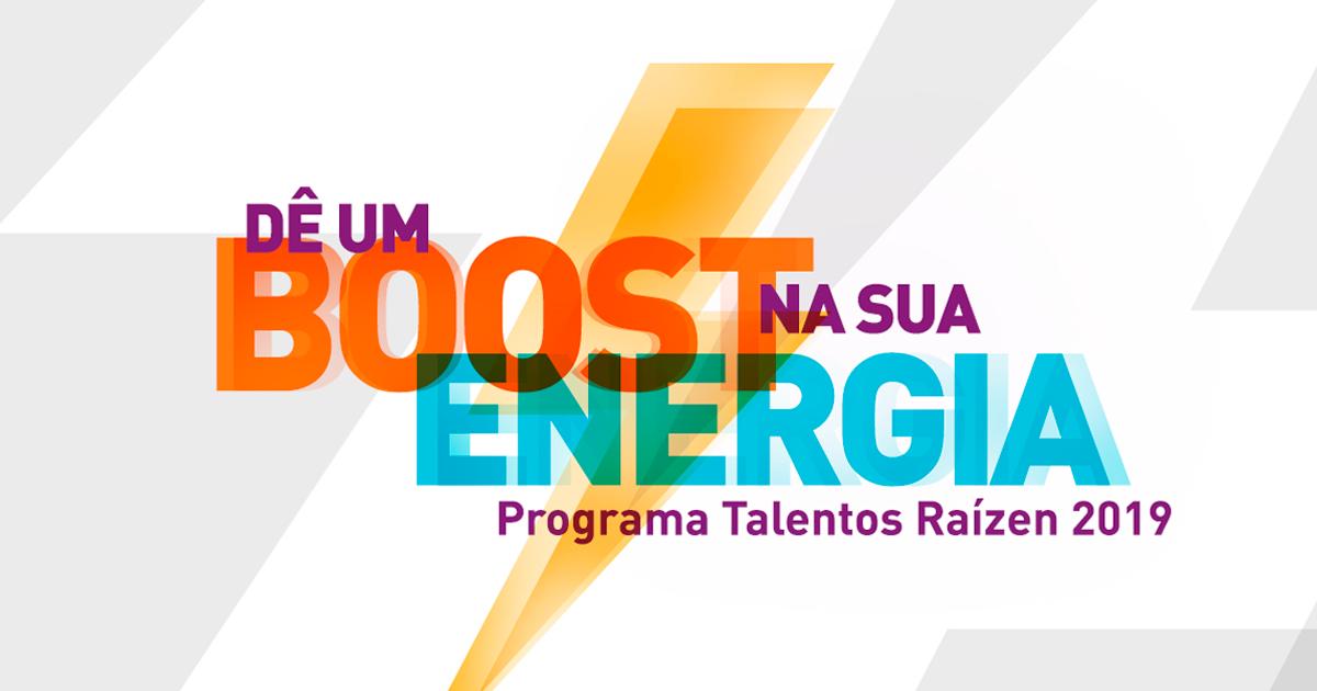 Programa de Estágio Raízen – 2019