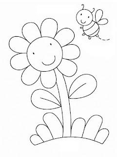 fichas-colorear-primavera-preescolar