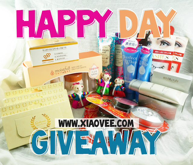 Xiao Vee's Happy Day Giveaway