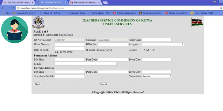 TSC Teachers July Recruitment: Step-by-step Guide on How to Apply