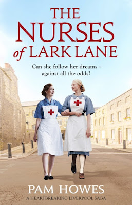 The Nurses of Lark Lane by Pam Howes - Books On Tour Review