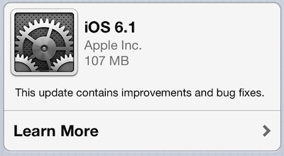 How To Update Your iPhone, iPod Touch And iPad To iOS 6.1 [ Guide ]