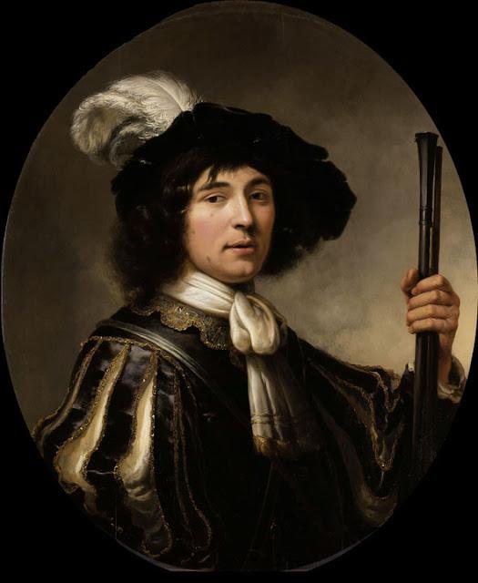 Альберт Кёйп - Портрет офицера. 1640-60