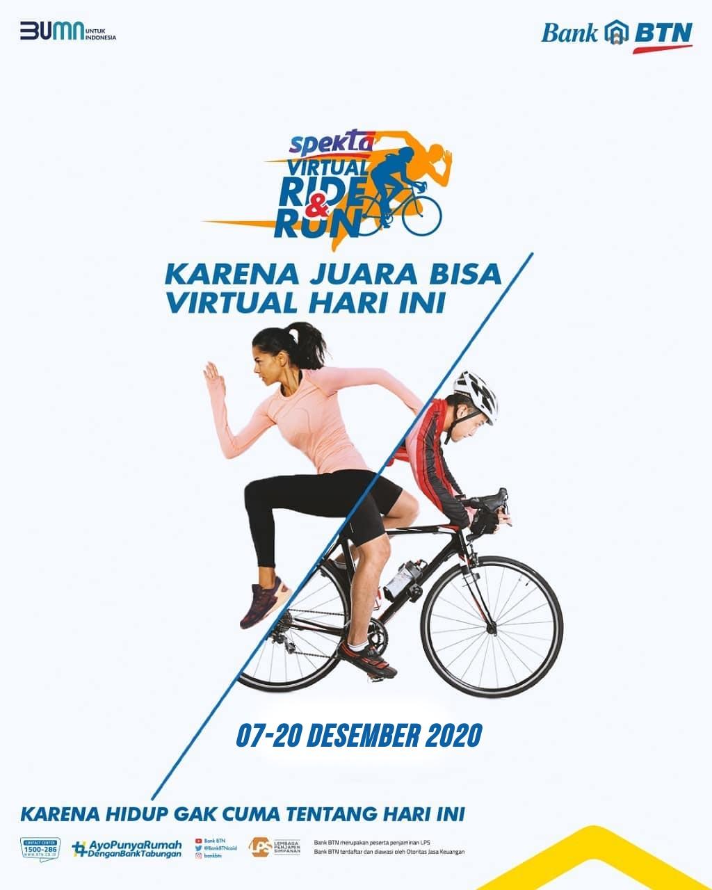 BTN Spekta Virtual Ride & Run • 2020