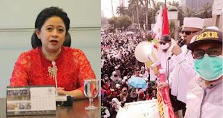 Ketua DPR Puan Maharani Tak Berani Temui Perwakilan Ormas Anti PKI, Ada Apa ?