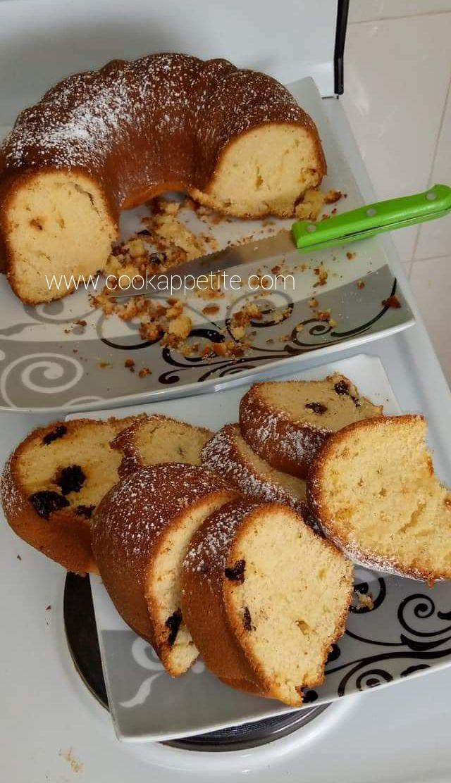 Lemon Fruit Cake