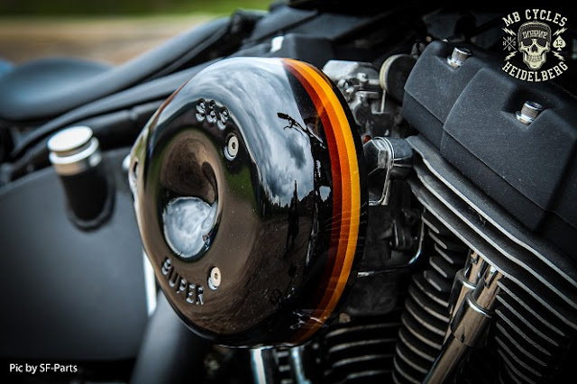Harley Davidson By MB Cycles Hell Kustom
