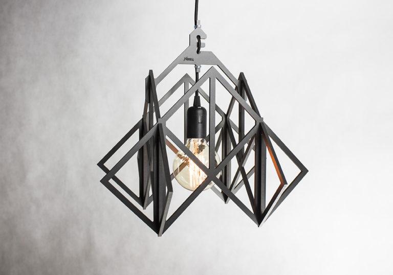 Industrialna lampa do składania