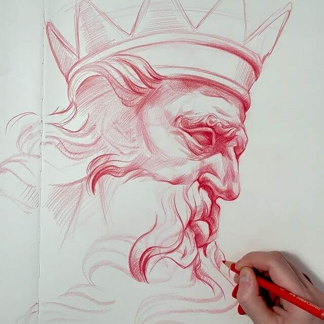 07-The-king-Masha-Prilutzki-www-designstack-co