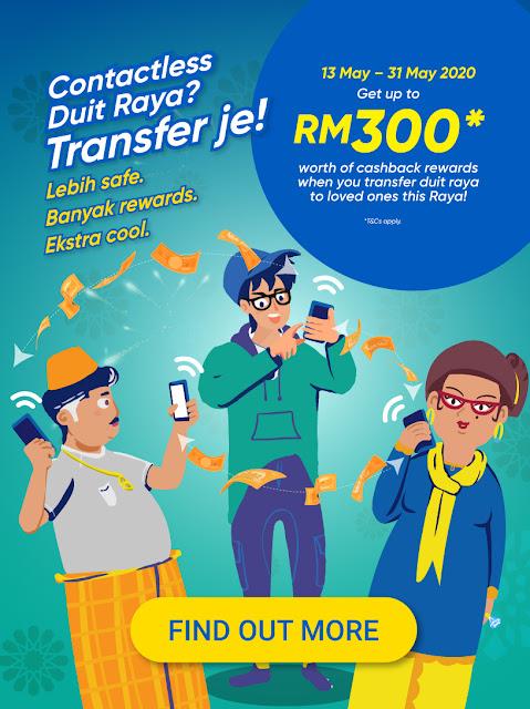 'Lebih' Senang buat Bayaran Zakat Fitrah Selangor, 'Banyak' Promosi Raya dan Pulangan Tunai  e-Baucar serta cara pindahkan Duit Raya yang 'Ekstra' selamat.