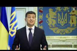 Inilah Pidato Presiden Ukraina , Volodymyr Zelensky Saat Berbicara di Debat Umum PBB ke 75