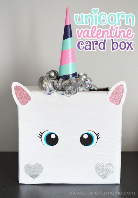 Easy unicorn craft card box