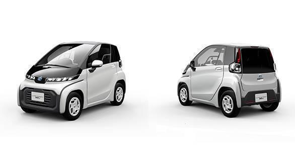 Mobil Listrik Toyota Ultra Compact BEV