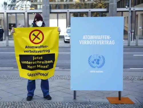 Campaign to acceptTreaty on the Prohibition of Nuclear Weapons (TPNW)