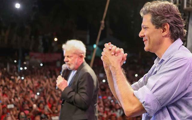 Haddad e Lula já se articulam para a disputa presidencial em 2022