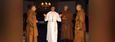 The Three Priests in the play are fellow members of Becket's Church. Though not completely individualised, they are subtly differentiated - as their speeches clearly indicate.