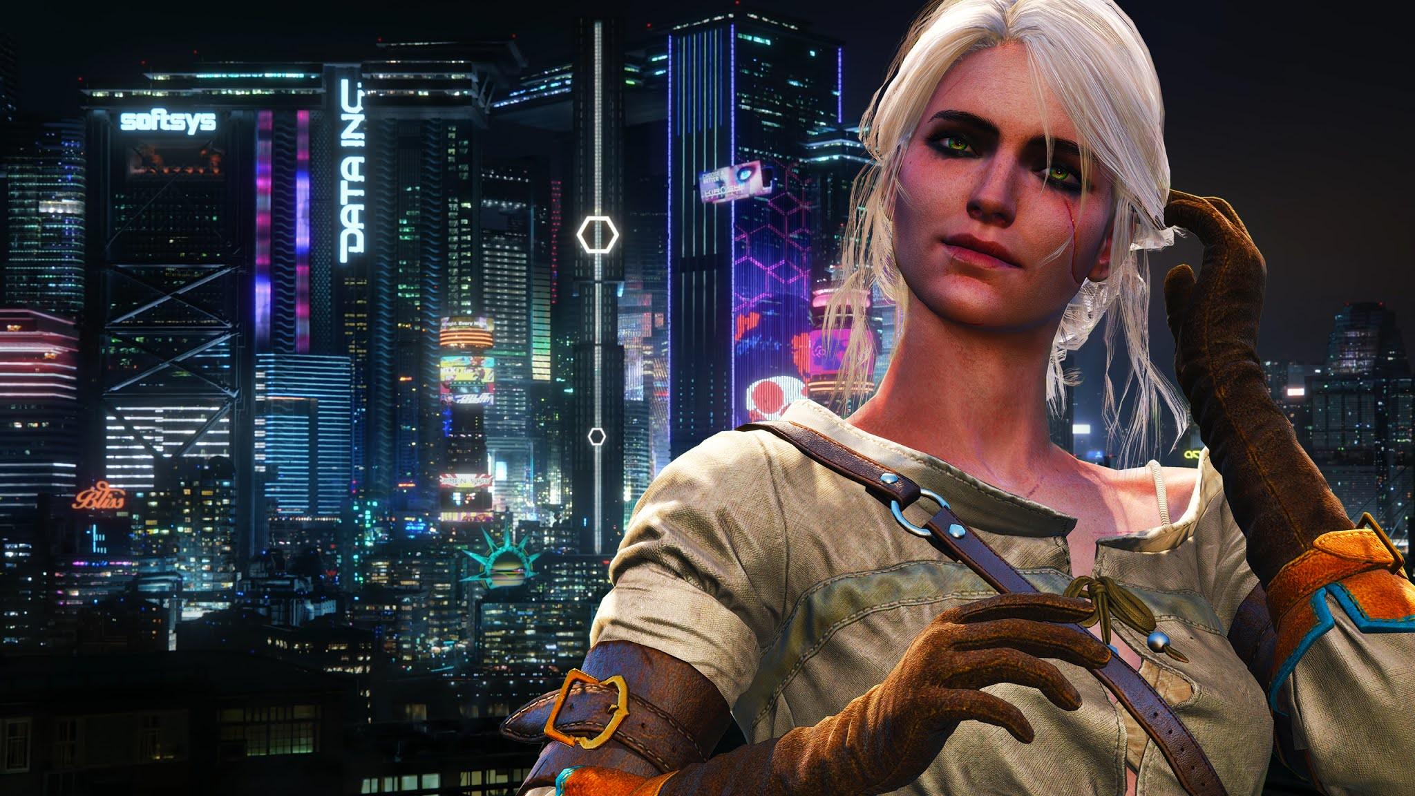 Cyberpunk 2077 guide. How to create Ciri?