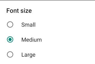 WhatsApp Par Font Size Kaise Change Kare