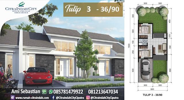 Tulip 3, 36/90 Citra Indah City