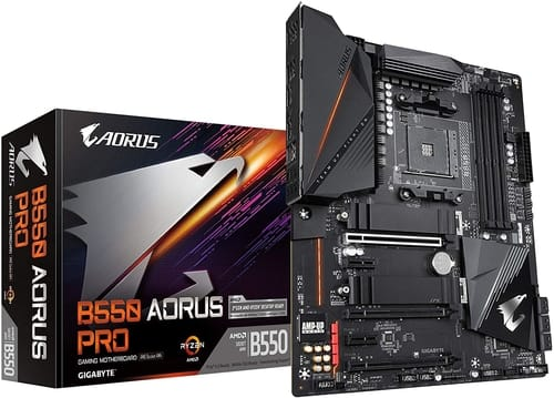 Review GIGABYTE B550 AORUS PRO Gaming Motherboard