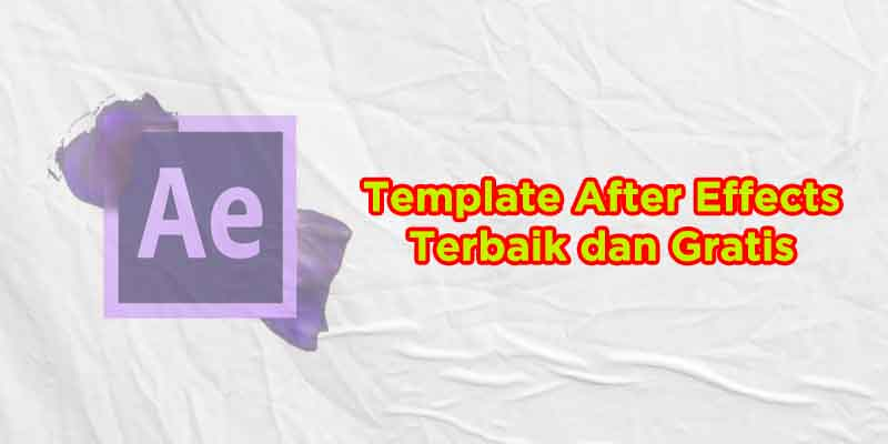 template after effects terbaik