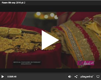 Siya Ke Ram 23rd September 2016 Full Written Episode 272 Watch Online