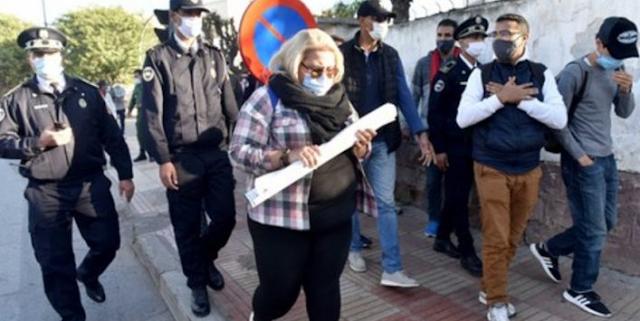 الإضراب والمسيرة والاعتصام ، المدرسون المتعاقدون لا يستسلمون