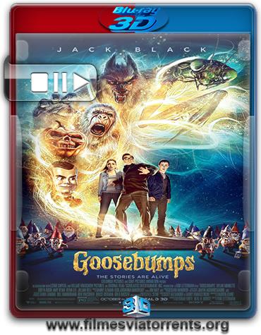 Goosebumps: Monstros e Arrepios Torrent - BluRay Rip 1080p 3D HSBS Legendado (2015)