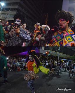 Desfile Inaugural del Carnaval. Uruguay. 2017.Murga Cayó la Cabra