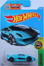 Hot Wheels mô phỏng xe Lamborghini