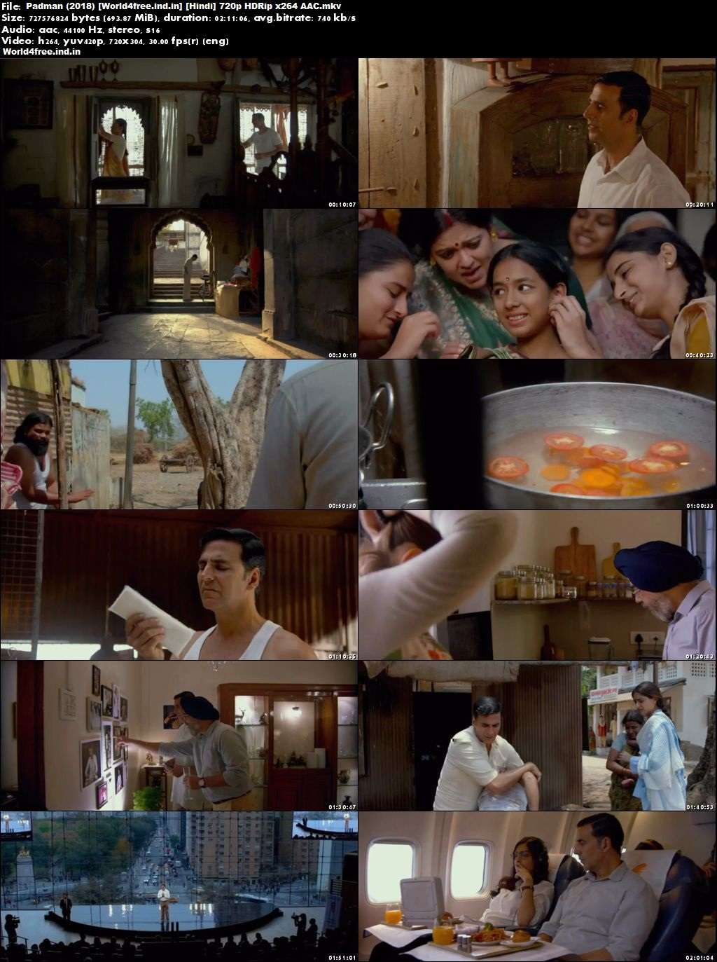 Padman 2018 worldfree4u Full Hindi Movie Download HD 720p