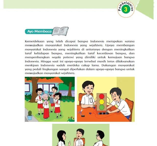 Kunci Jawaban Tema 6 Kelas 6 Pembelajaran 3