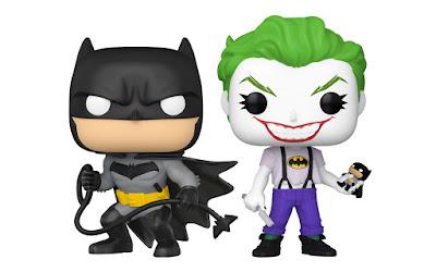 San Diego Comic-Con 2021 Exclusive Batman White Knight Batman & The Joker Pop! DC Comics 2 Pack by Funko x Previews
