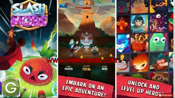 Slash Mobs Mod Apk for Android