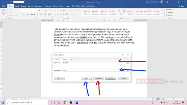 Cara Mengganti Kata di Microsoft Word Menggunakan Fitur Replace