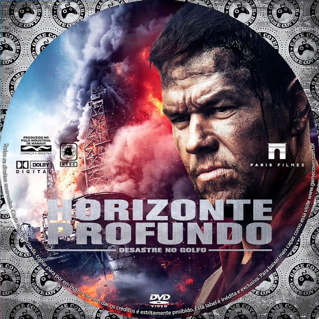 Label DVD Horizonte Profundo Desastre Do Golfo [Exclusiva]