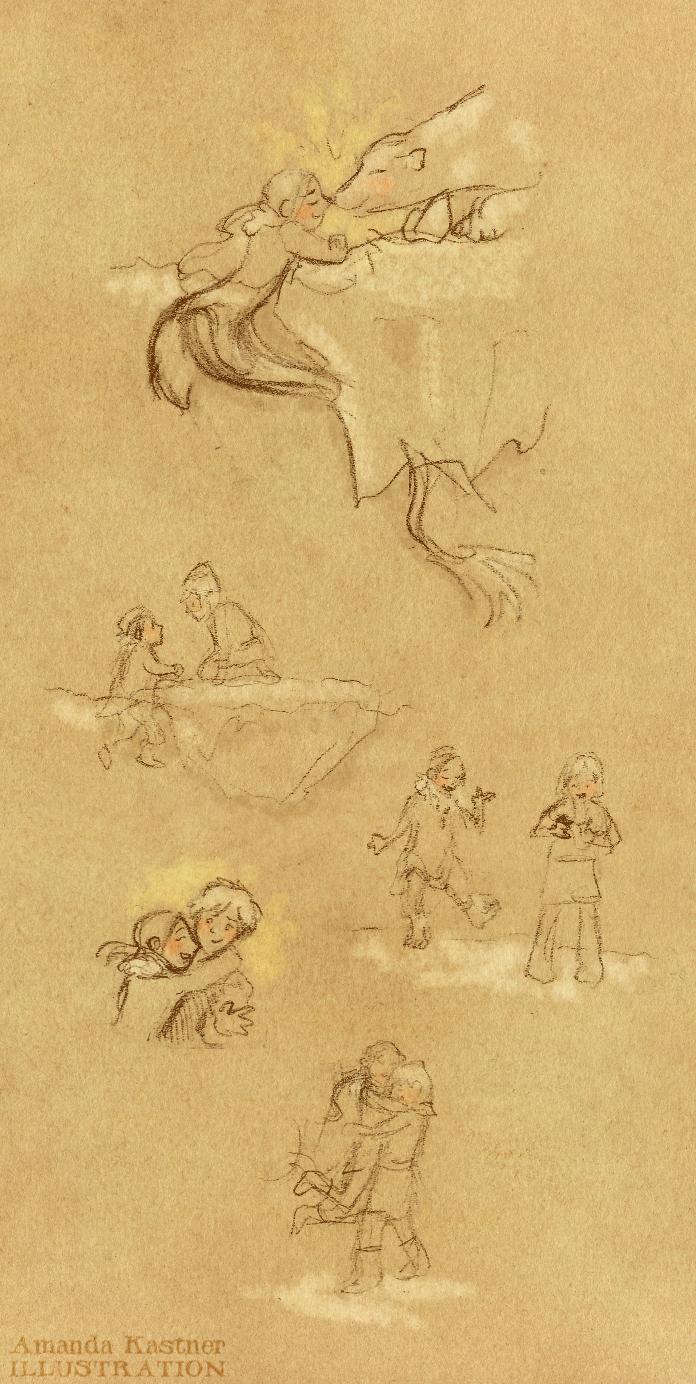 blog amanda kastner illustration the mermaid u0026 the polar bear