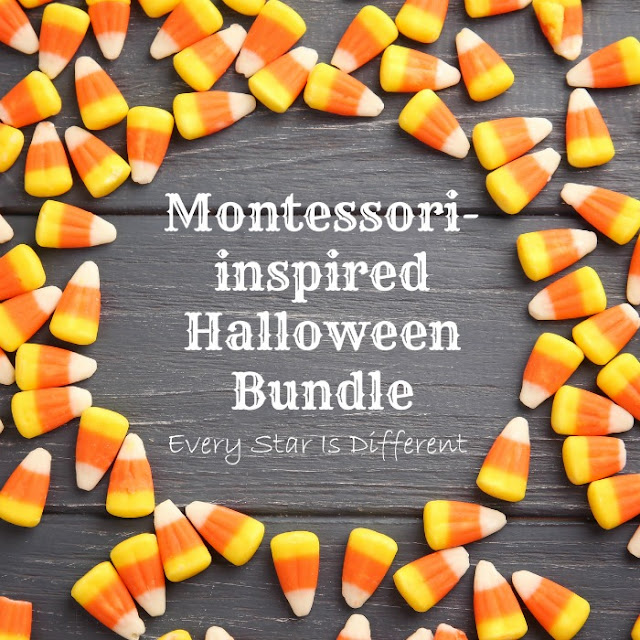 Montessori-inspired Halloween Bundle