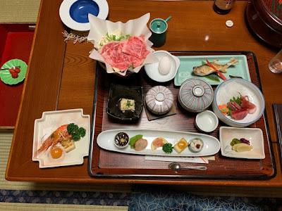 中藤屋旅館 夕食