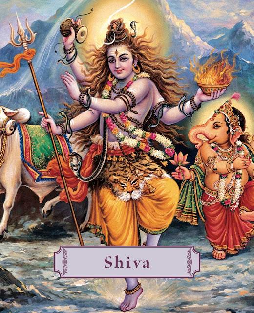 Shri Shiva tandav stotram lyrics in English and Bengali | Shiva tandav Lyrics