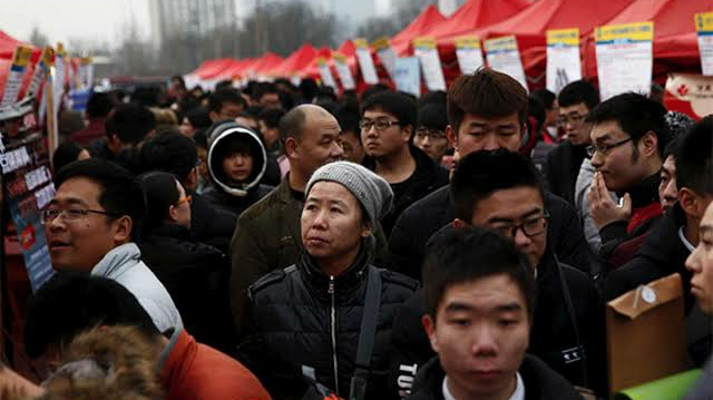 Will China's population begin to decline by 2025?