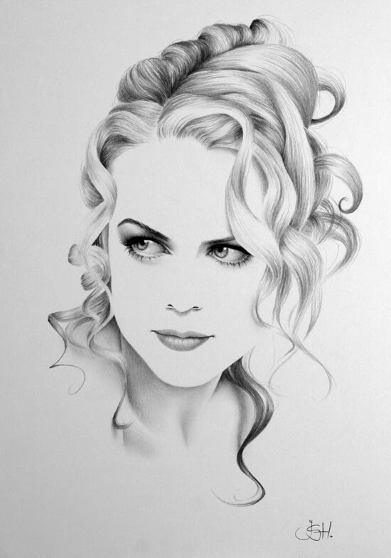 02-Nicole-Kidman-Ileana-Hunter-Drawings-of-Minimalist-Realism-Meets-Celebrities-www-designstack-co